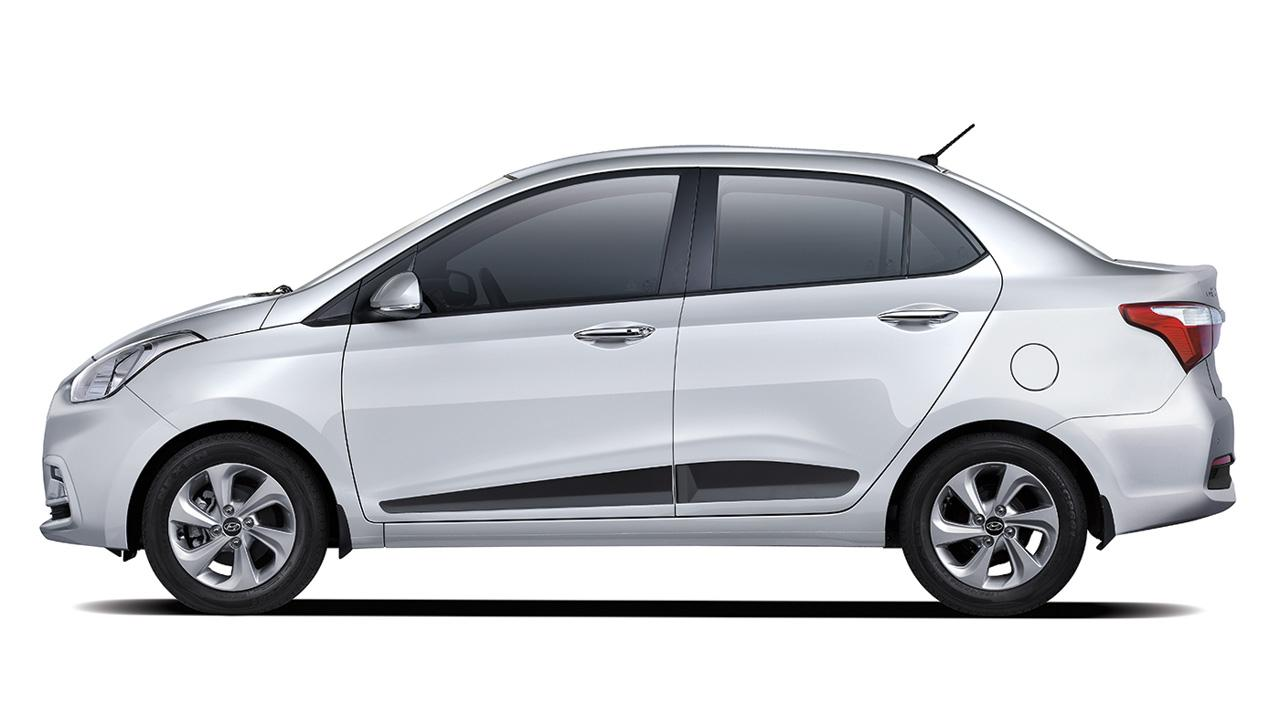 Grand i10 Sedan vue de profil