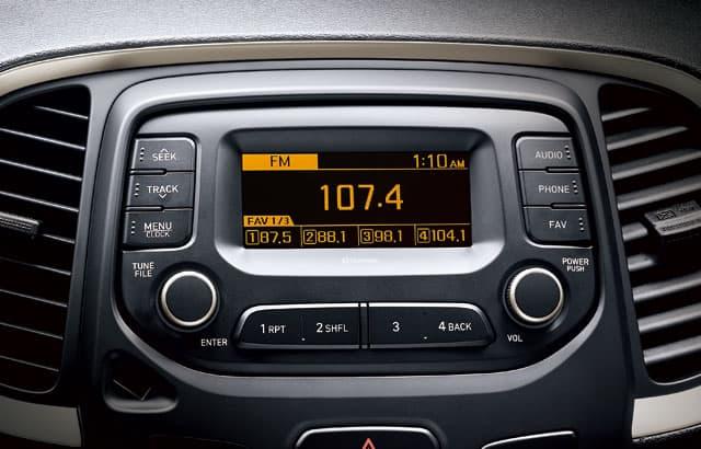Radio compact audio 4.0