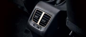 Hyundai Atos Ventilation arrière