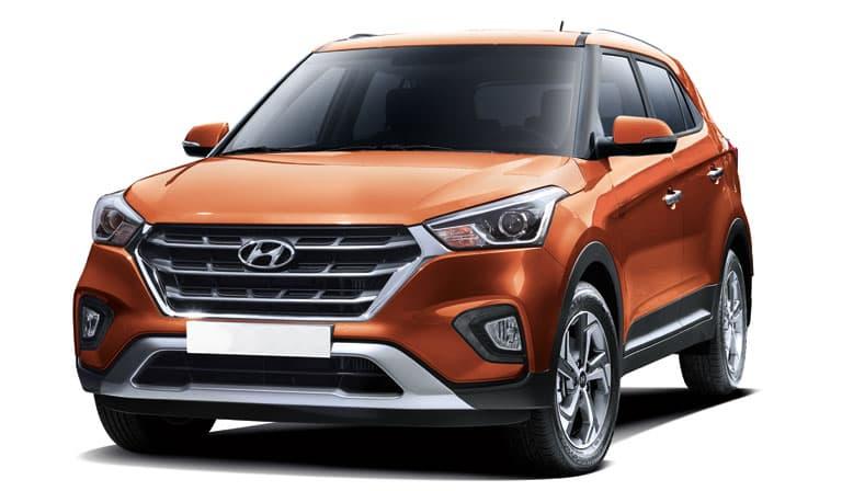Hyundai Creta Vue de trois quart