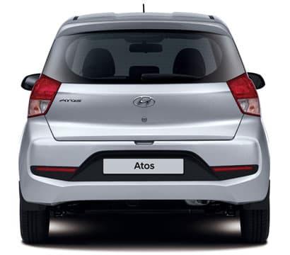 Hyundai Atos Arrière