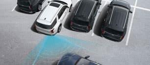 Assistance à l'évitement de collision transversale arrière