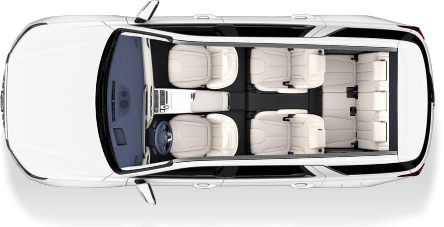 Hyundai Palisade intérieur