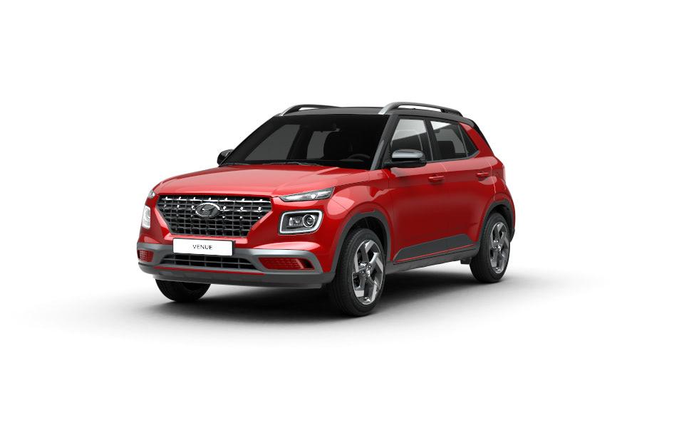 Hyundai Venue Extérieur Vue de Face