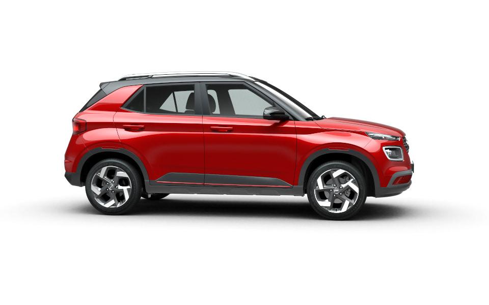 Hyundai Venue Vue de profil