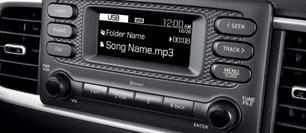 Afficheur audio compact